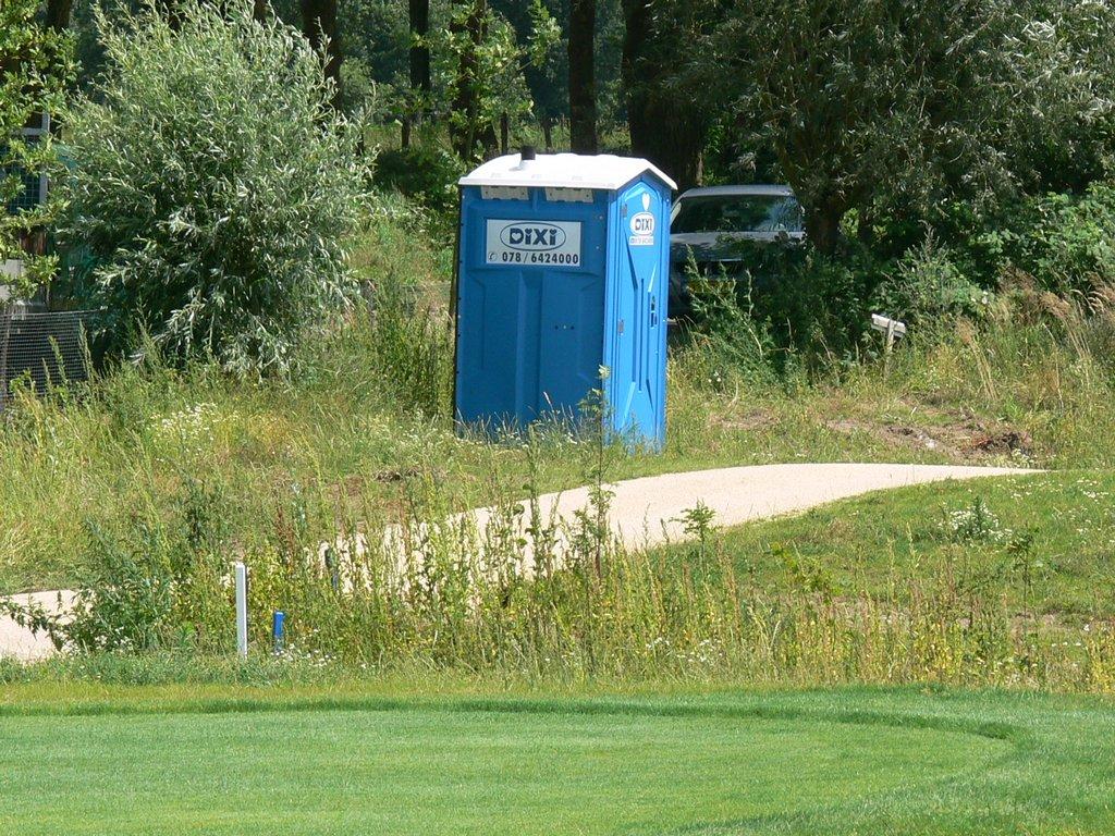 Tijdelijk Toilet Binnen : Toilet golfbaan handboek