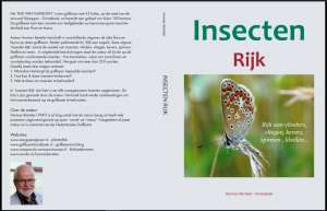 Hard cover INSECTEN RIJK, 2016. ANODA Publishing Velp
